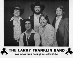 The Larry Franklin Band - Click for larger image!