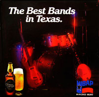 WBAP's The Best Bands In Texas Album Cover - Click for larger image!